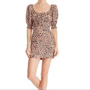 Fame and Partners NWT animal print mini dress 🐆